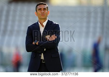 Torino. Italy. 19th June 2020. Italian Serie A . Torino Fc Vs Parma Calcio. Moreno Longo, Head Coach