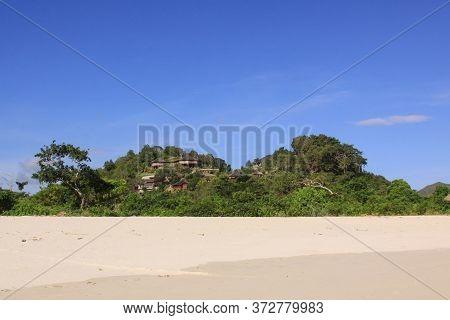 Mawun Accomodation Facilities And Resorts, Lombok. Kuta Lombok Is An Exotic Paradise On The Indonesi