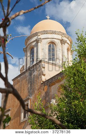 Monastery Of Agia Triada. Greece. Crete. 3
