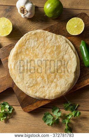 Homemade Fresh Flour Tortillas