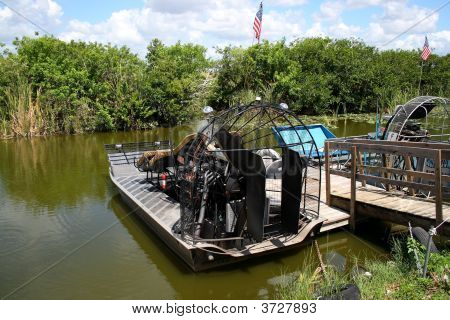 Airboats On The Everglades