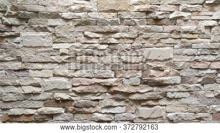 The Old Brick Wall Pattern Texture Background.