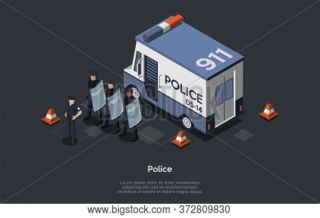 Concept Of Protection Of Population, Authoritarian, Totalitarian Regimes. Counter-terrorist Police S