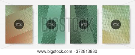 Gradient Zig Zag Stripes Texture Vector Backgrounds For   Business Covers. Futuristic Zig Zag Gradie