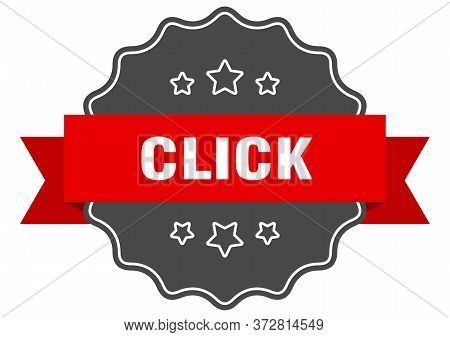 Click Red Label. Click Isolated Seal. Click