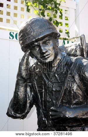 American Soldier Statue