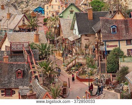 Popeye Village - A Popular Landmark And Former Film Location In Malta - Island Of Malta, Malta - Mar