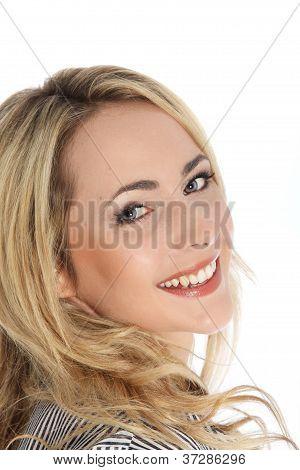 Attractive Vivacious Blonde Woman