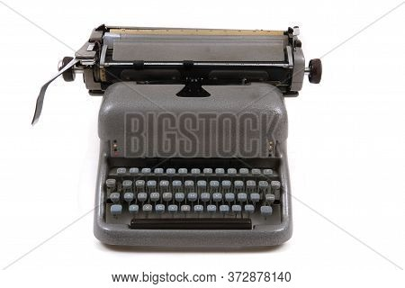 Old Metal Typing Machine