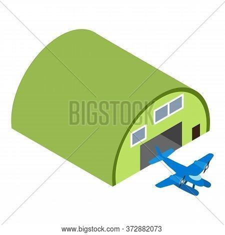 Seaplane Icon. Isometric Illustration Of Seaplane Vector Icon For Web