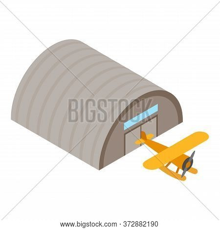 Retro Seaplane Icon. Isometric Illustration Of Retro Seaplane Vector Icon For Web