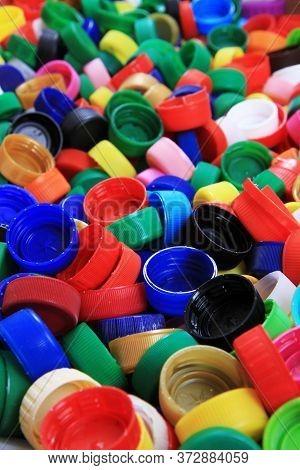 Plastic Caps Texture