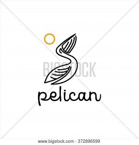 Pelican Logo Simple Vector Photo Free Trial Bigstock,Teenage Girl Latest Bridal Lehenga Designs 2020 For Wedding