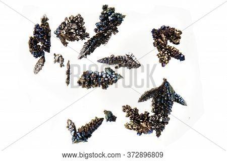 Vanadium Metal Crystals Isolated