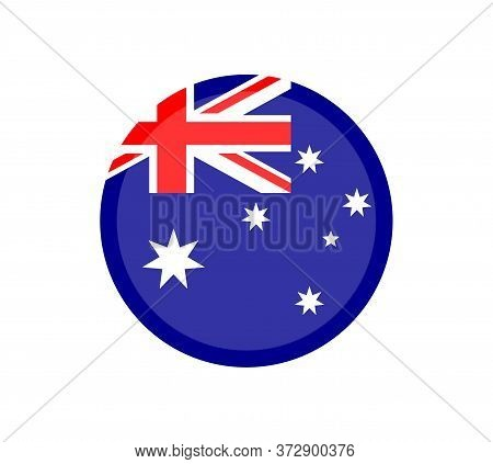 National Australia Flag, Official Colors And Proportion Correctly. National Australia Flag.