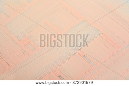 Smears Of Foundation For Face. Cosmetic Smear Of Liquid. Isolated On Light Background