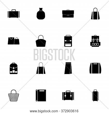 Bag Icon - Expand To Any Size - Change To Any Colour. Perfect Flat Vector Contains Such Icons As Bac