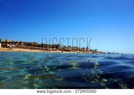 Makadi Bay Beach In The Egypt