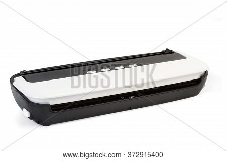 Vacuum Packing Machine On A White Background