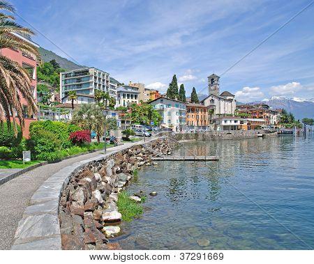 Brissago,Lake Maggiore,Switzerland