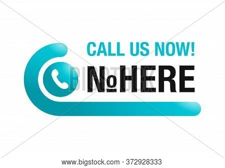 Call Us Now Web Button  - Template For Phone Number Place In Website Header - Creative Conspicuous S