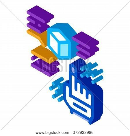 Function Parsing Icon Vector. Isometric Function Parsing Sign. Color Isolated Symbol Illustration