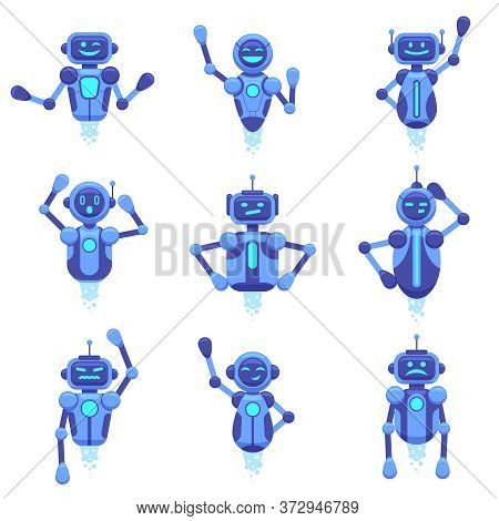 Chat Bot Assistance. Robotics Technology Chat Bots, Robotic Digital Assistant, Futuristic Android Ch