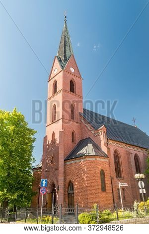 Evangelical Church Of The Augsburg Confession In Olsztyn, Poland.