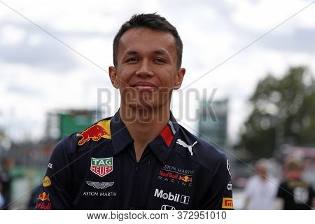 Monza, Italy. 8 September 2019. Formula 1 Grand Prix Of Italy. Alexander Albon Of Red Bull  Honda In