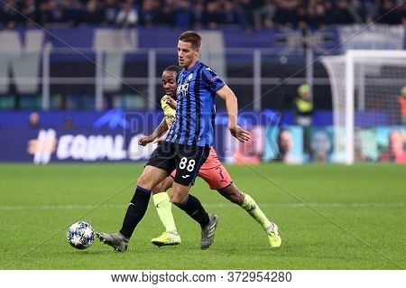 Milano, Italy. 06th November 2019. Uefa Champions League . Atalanta Calcio Vs Manchester City Fc. Ma
