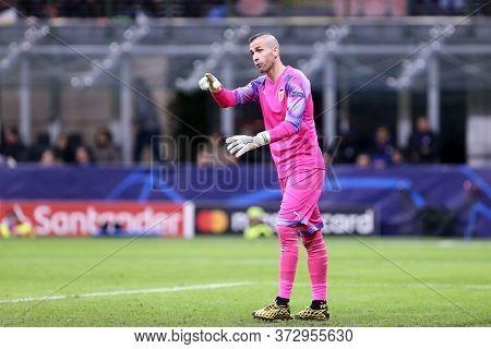 Milano, Italy. 19th February 2020. Uefa Champions League. Atalanta Bergamasca Calcio Vs Valencia Cf.