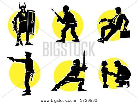 Cinema Silhouettes Icons_13