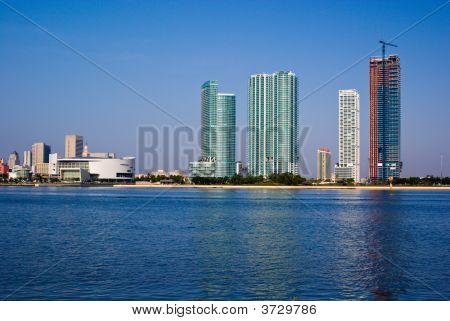 Miami Bayfront Highrise Construction