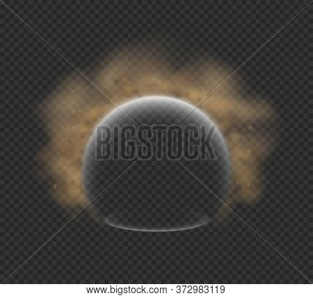 Shield Against Air Pollution An Air Purification Vector Mock-up Concept, Energy Shield Defending Fro