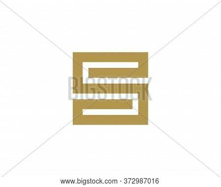 Capital Letter S Monogram .alphabet Capital Letter S Monogram
