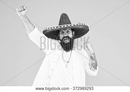 Mexican Performer. Mexican Traditions. Explore Mexican Culture. Celebrate Traditional Holiday. Happy
