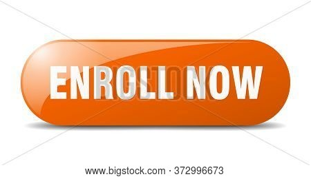 Enroll Now Button. Enroll Now Sign. Key. Push Button.