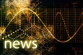 News Abstract Business Concept Wallpaper Presentation Background poster