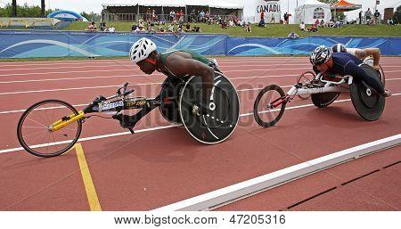 Wheelchair Athletes Race Canada