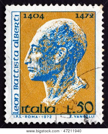 Postage Stamp Italy 1972 Leon Battista Alberti, Architect