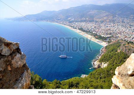 Alanya, Turkey, Cleopatra's beach