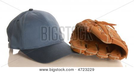 Ball Glove And Hat