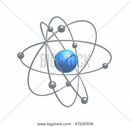 scientific atom particle