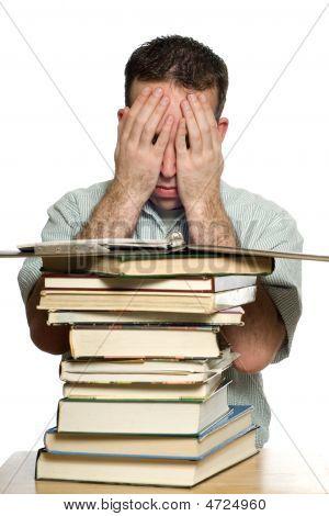 Depressed College Student