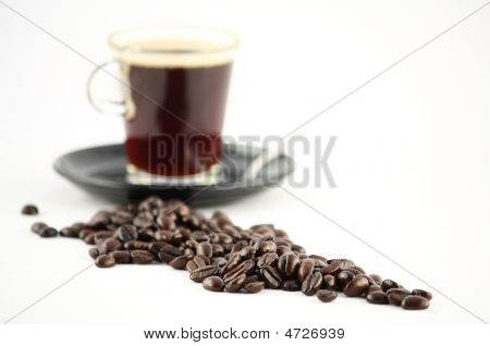 Beans On White With Whole Cup