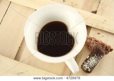Heart Coffee And Chocolates