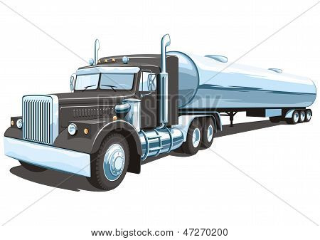 Tanker truck my design