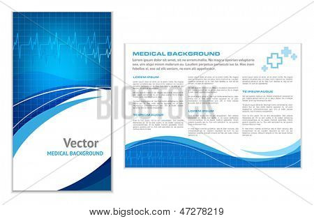 Abstract Medical Background - Flyer Template