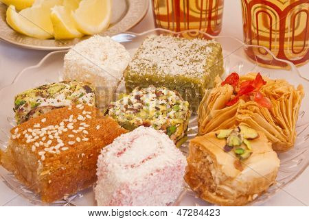 Plate Of Turkish Delight