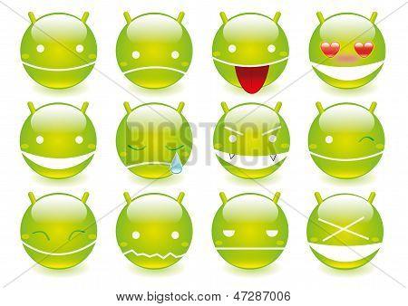 Robot emoticons